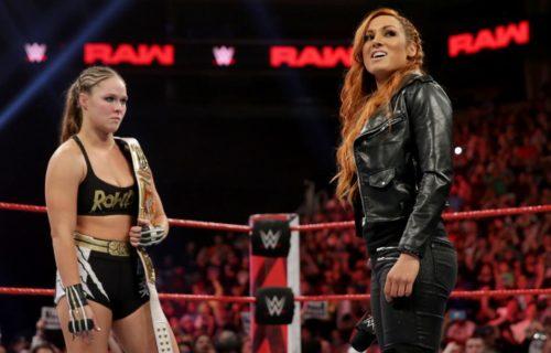 Becky Lynch 'Buried' Ronda Rousey In Fan Photo