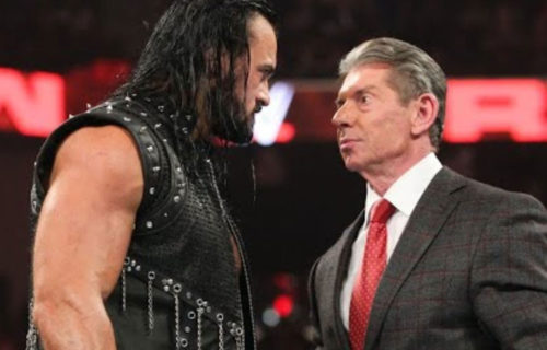 Vince McMahon 'Lying' To Drew McIntyre Backstage?