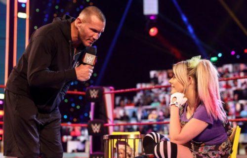 Alexa Bliss 'Angers' Randy Orton Backstage At Raw