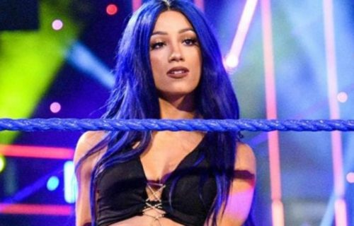 Sasha Banks 'Squats' In Backstage Smackdown Photo