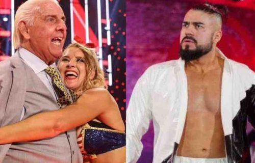 Andrade 'Father' Of Lacey Evans Baby On Raw?