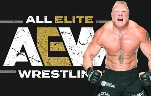 WWE React To Brock Lesnar AEW Signing Rumor