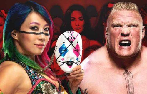 Brock Lesnar & Asuka Bombshell Leaked By WWE Star