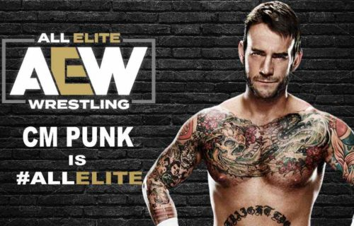 CM Punk Airport Photo Spread By AEW Fans