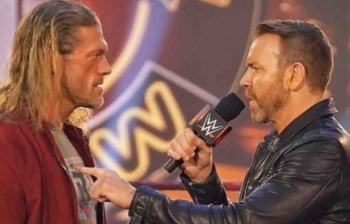 Edge Reacts To Christian Cage Quitting WWE