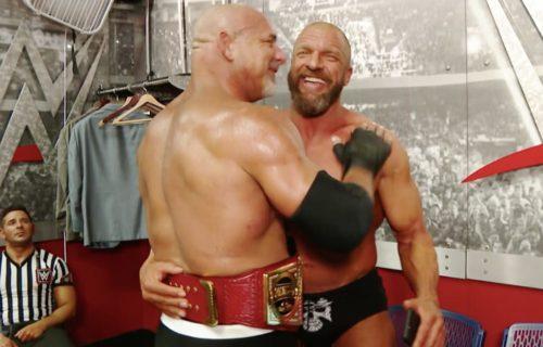Goldberg & Triple H WrestleMania Match Rumors Leak