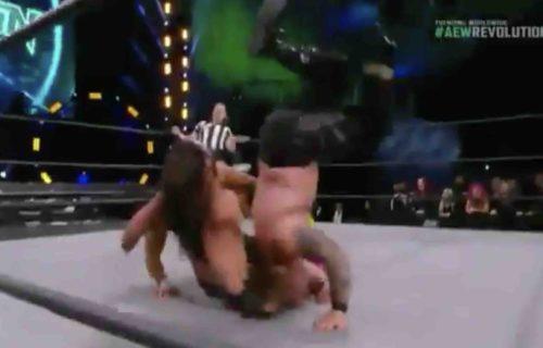 Chris Jericho Suffers 'Bad' AEW Revolution Neck Bump