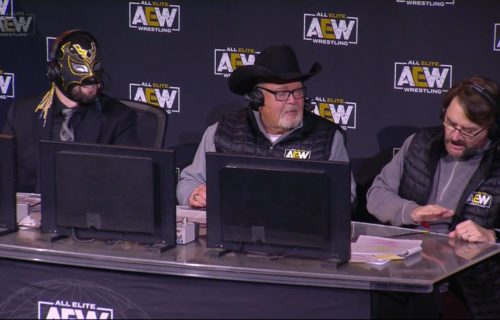 Jim Ross 'Struggles' At AEW PPV For Sad Reason