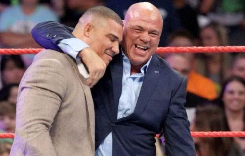 Kurt Angle Son Alleged WWE Affair Leaks