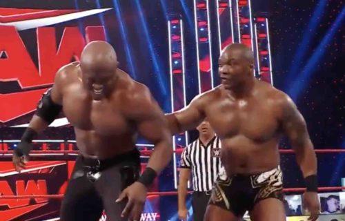 Bobby Lashley Raw Match 'Ruined' By Botch