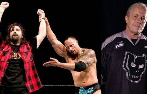 Bret Hart & Mick Foley AEW Signing Rumor Leaks