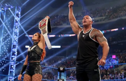 The Rock Sends Sad Message To Becky Lynch