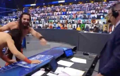 Seth Rollins 'Angers' Michael Cole By Going Off Script
