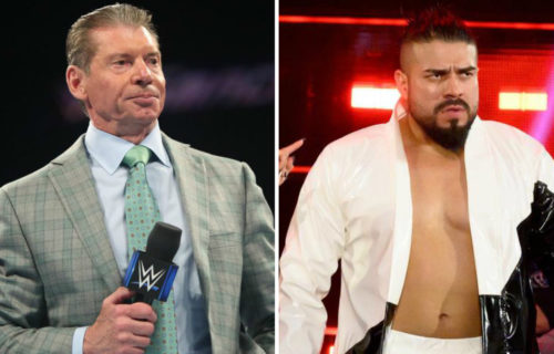 Vince McMahon 'Held Down' Andrade For Sad Reason