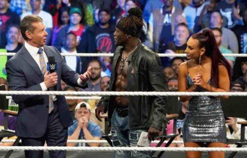 Vince McMahon 'Angers' Carmella At WWE Raw
