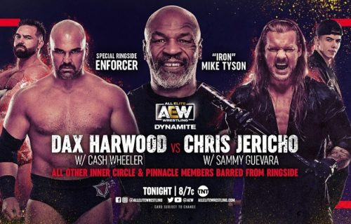 AEW Dynamite results April 14: Jericho vs. Harwood with Tyson as special ref