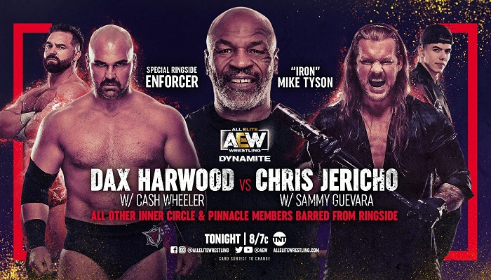 01-aew-dynamite-results-4-14-2021--chris-jericho-vs-dax-harwood-with-mike-tyson-as-special-enforcer