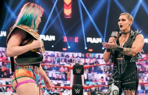 Asuka vs. Rhea Ripley WrestleMania Spoiler Leaks