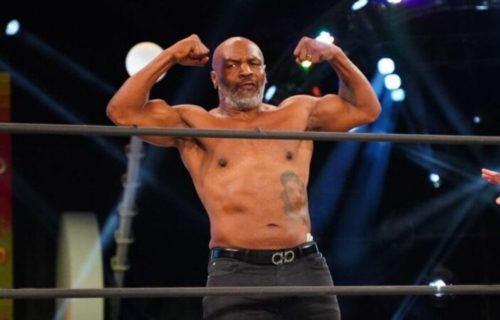 Mike Tyson Spotted With Top AEW Female Star