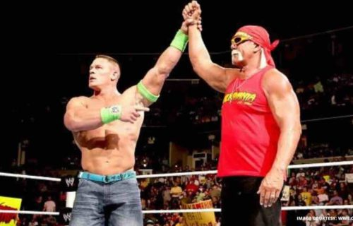 Hulk Hogan 'Angers' John Cena Family Backstage