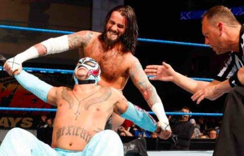 CM Punk 'Buries' Rey Mysterio & MVP
