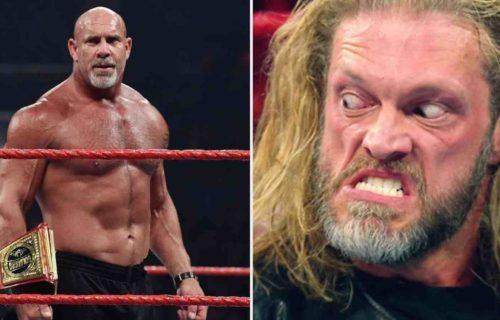Goldberg 'Disrespects' Edge Backstage At WrestleMania
