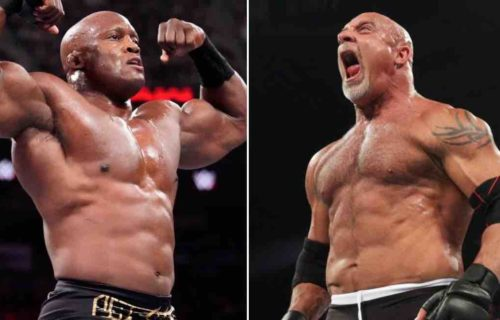 Bobby Lashley 'Angers' Goldberg At WrestleMania