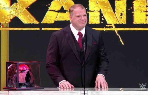 Kane 'Apologizes' To AEW Star At Hall of Fame