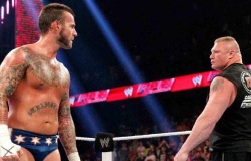 CM Punk & Brock Lesnar WWE 'Surprise' Leaks