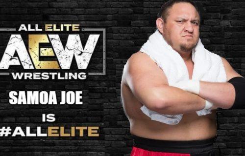 Samoa Joe Can't Go To AEW For Sad Reason