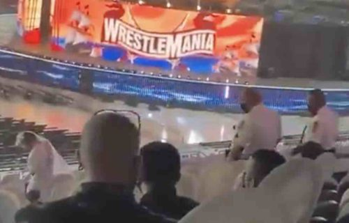 WrestleMania Fan Kicked Out After 'Rampage'