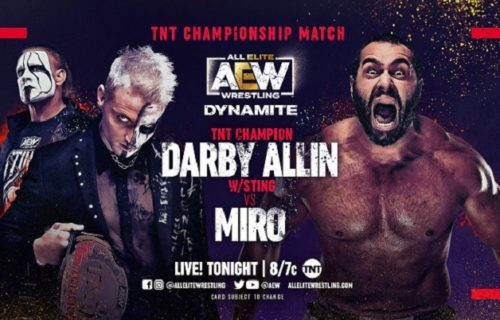 AEW Dynamite results May 12: Darby Allin vs. Miro for TNT title