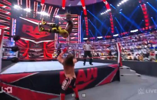 Kofi Kingston 'Botches' AJ Styles Raw Match?