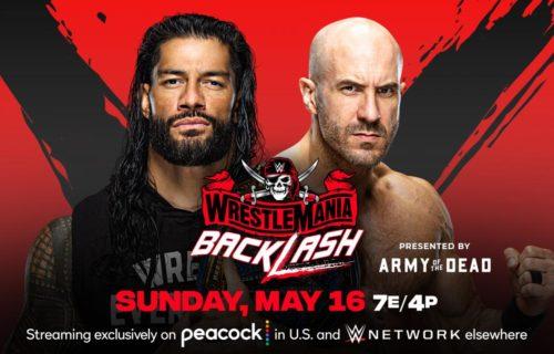Roman Reigns vs. Cesaro WWE Backlash Winner Leaks?