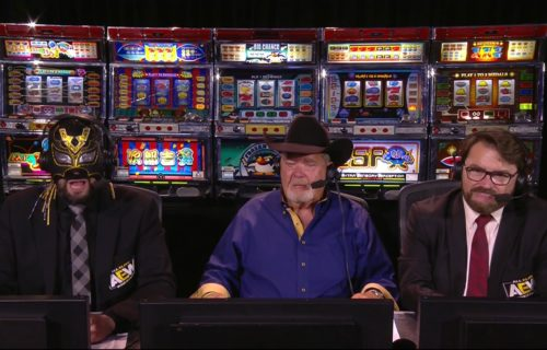 Jim Ross 'Ruins' AEW Double or Nothing Promo