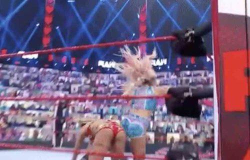 Dana Brooke 'Ruins' Charlotte Flair Raw Match