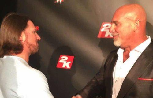 Goldberg 'Rejects' AJ Styles At WWE Raw?