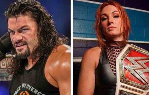 Roman Reigns & Becky Lynch Bombshell Leaks
