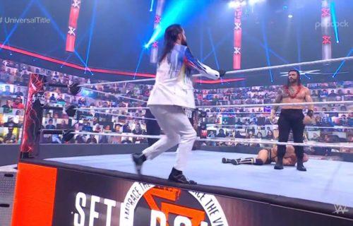 Peacock 'Ruins' Seth Rollins At WrestleMania Backlash