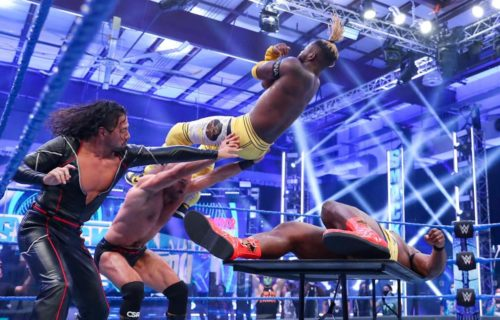 WWE Smackdown Star Spotted At AEW Hotel