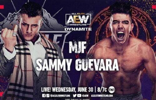 AEW Dynamite results June 30: MJF vs. Sammy Guevara