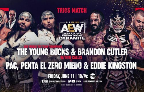 AEW Dynamite results June 11: Featured AEW Trios match, more