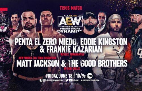 AEW Dynamite results June 18: AEW Trios main event