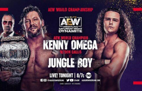 AEW Dynamite results June 26: Kenny Omega vs. Jungle Boy