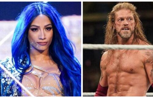 Edge & Sasha Banks Bombshell Leaks