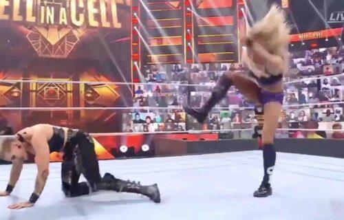 Charlotte Flair 'Botches' Rhea Ripley Match
