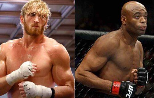 Anderson Silva Drops Logan Paul Fight Bombshell