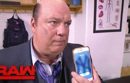 Paul Heyman Phone Call To Fired WWE Star Leaks