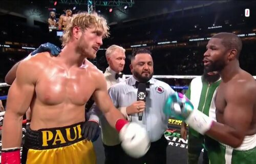 Logan Paul vs. Floyd Mayweather Allegedly 'Fake WWE Match'