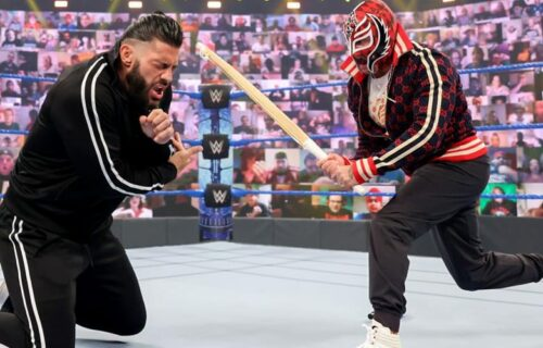Roman Reigns vs. Rey Mysterio Winner Leaks?